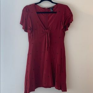 Red Forever 21 Dress - Size M